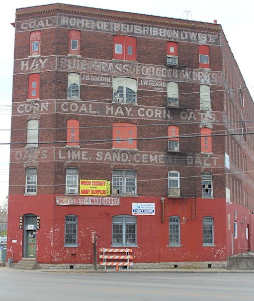 Wood Energy Warehouse Lexington Kentucky
