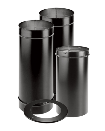 DuraVent DuraBlack® Single Wall Stove Pipe
