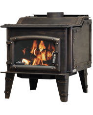 High Valley Model 1600 Stove-Bronze