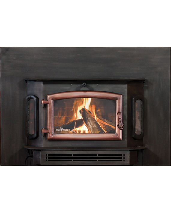 High-Valley-Model-2500-Fireplace-Insert-Original-Burnished-